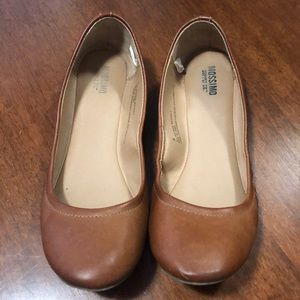 Mossimo Brown Flats